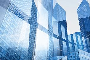 抽象,窗户,背景,蓝色,商业内部,办公楼外观,摩天大楼,高大的,建筑