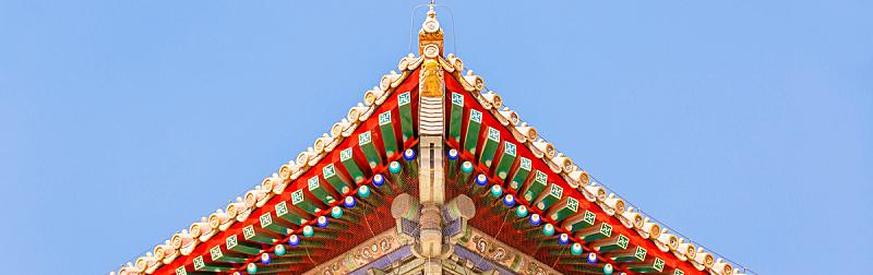 屋檐,故宫,宫殿,北京,天空,艺术,绘画作品,古老的,国际著名景点,高处