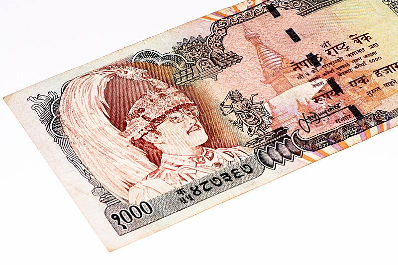 亚洲,水平画幅,银行,无人,符号,商业金融和工业,经济,帐单,数字,加德满都