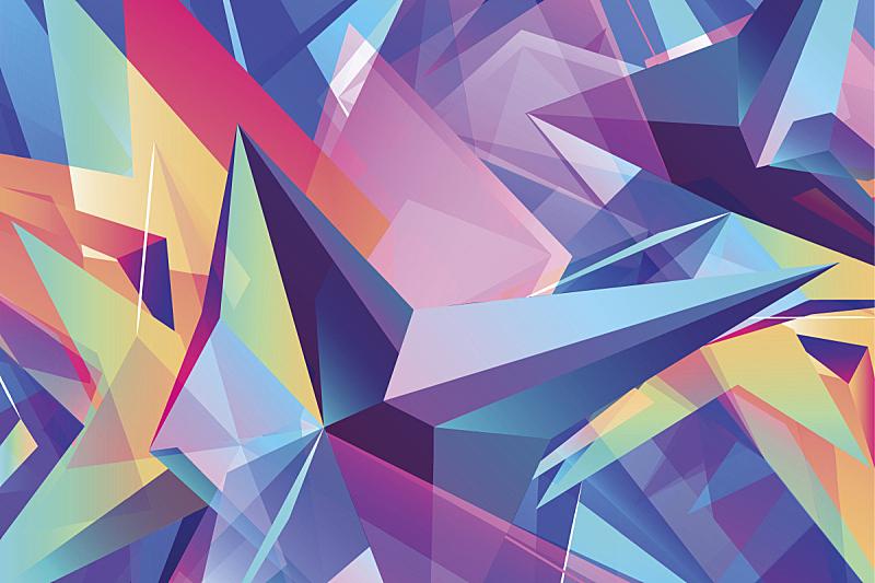 几何形状,三角形,背景,多色的,低多边形效果 ,凌乱,sexton,节能灯泡,未来,艺术