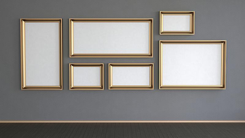 墙,水平画幅,无人,优美,家具,现代,画廊,地板,书桌,时尚