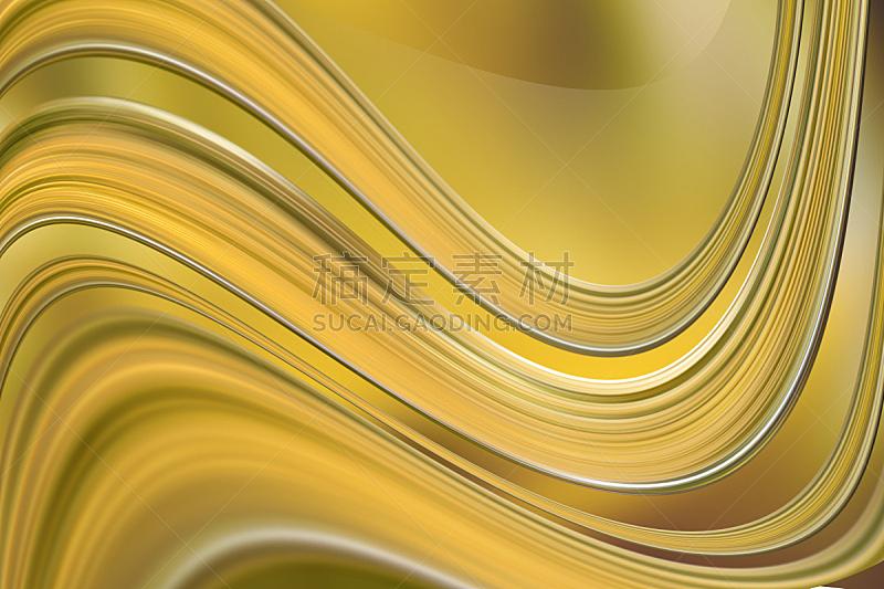 抽象,黄色背景,自然,水平画幅,纹理效果,无人,绘画插图,部分,计算机制图,分形