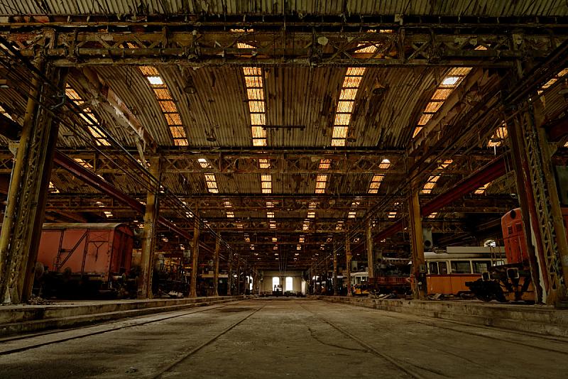 室内,车站,垃圾,仓库,水平画幅,墙,工作场所,无人,修理