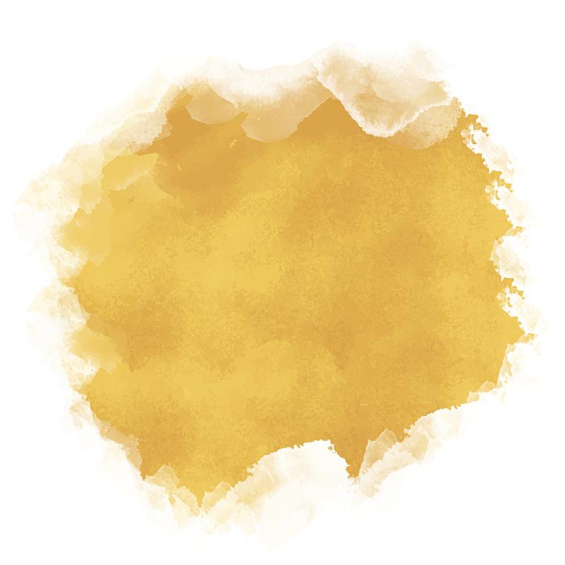 沙子,斑点,粗糙的,黄色,水彩画,波纹,水彩颜料,水彩画颜料,纹理效果,纹理