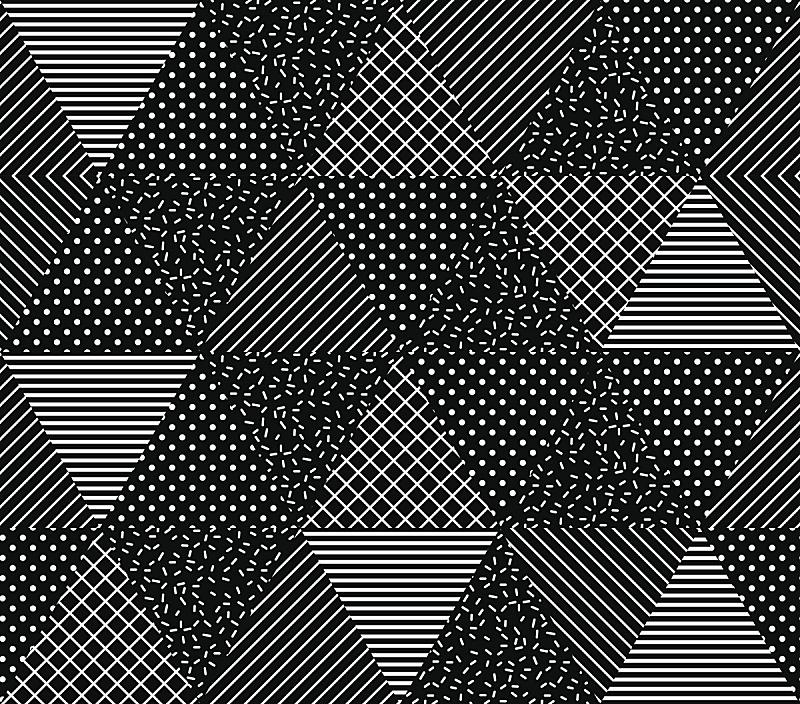 矢量,几何形状,四方连续纹样,抽象,青海波,新古典派,菱形,色板,绘画插图,计算机制图