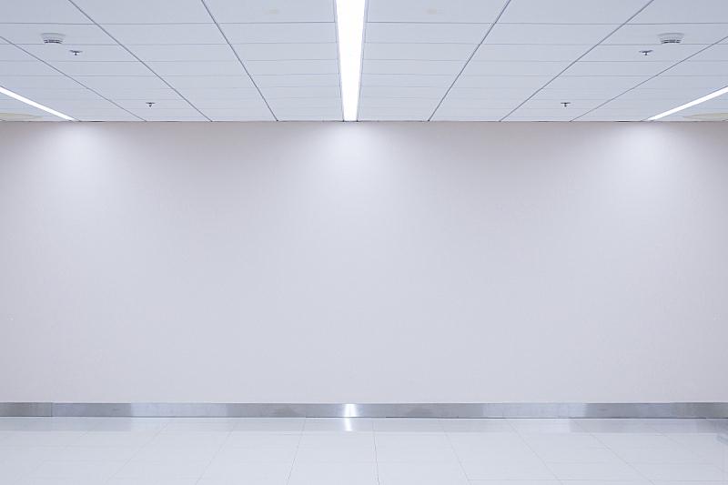 住宅房间,无人,墙,明亮,空白的,太空,仓库,水平画幅,建筑,抽象
