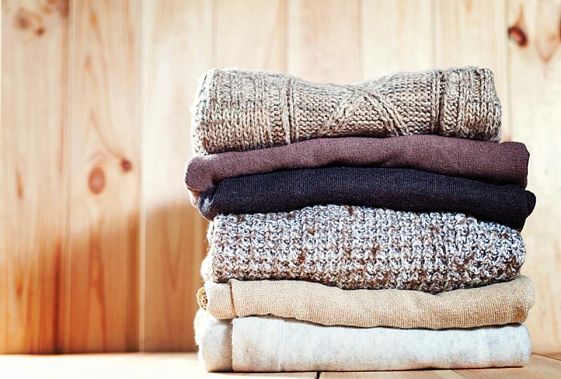 折叠的,热,木制,舒服,毛衣,背景,概念,个人随身用品,球,留白