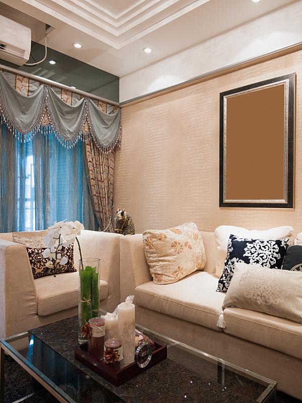 现代,起居室,茶几,垂直画幅,住宅房间,式样,座位,无人,装饰物,家具