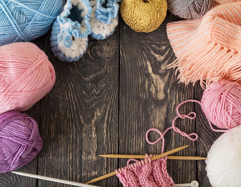 机织织物,手艺,木制,羊毛,多色的,公亩,商品,平视角,钩针编织品,针织