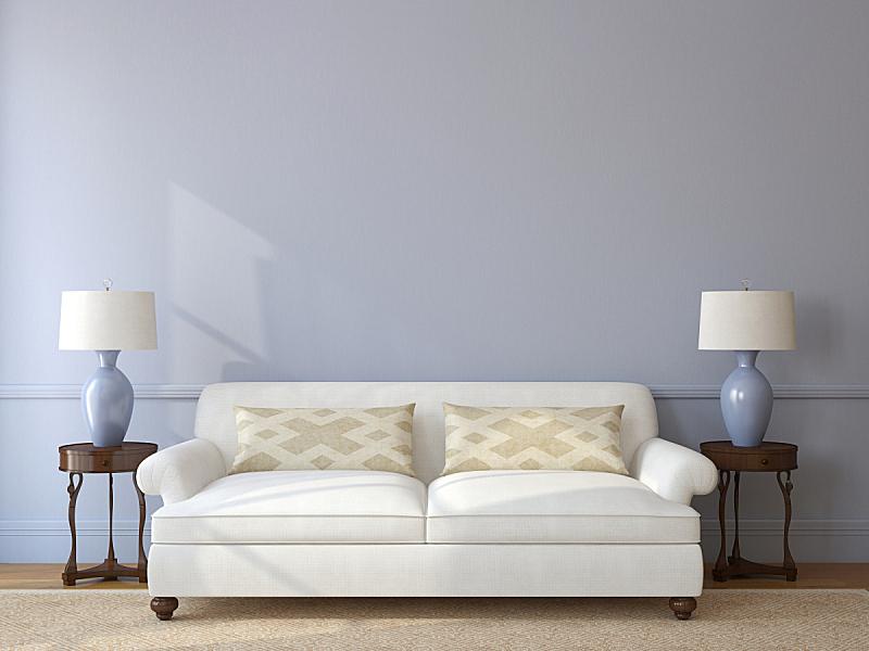 室内,起居室,正面视角,座位,水平画幅,形状,无人,地毯,灯,家具