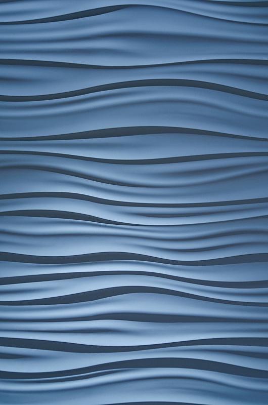 抽象,波形,垂直画幅,式样,形状,无人,蓝色,计算机制图,计算机图形学,单色调