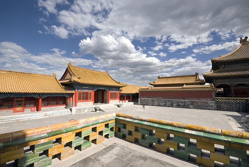 故宫,北京,太和殿,清朝,明朝风格,天空,古代文明,水平画幅,旅行者,亭台楼阁