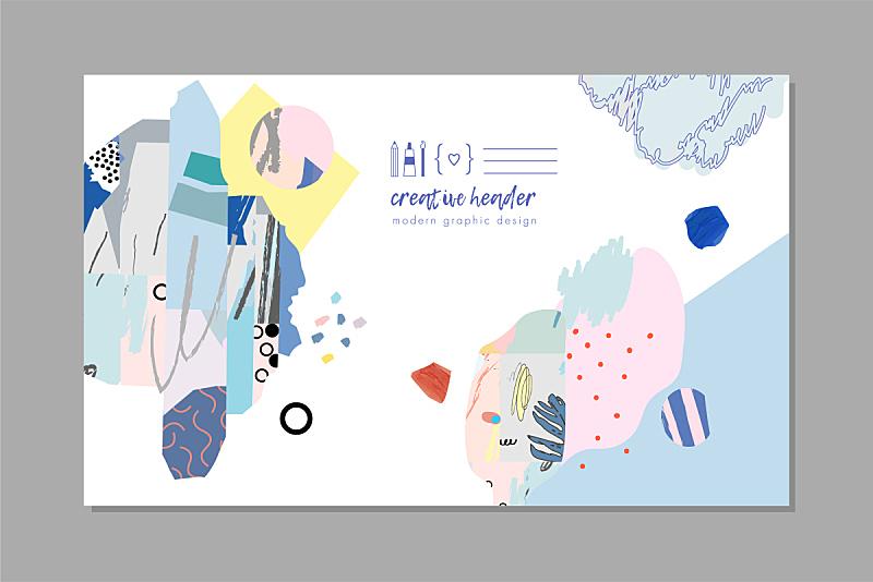 创造力,艺术,形状,贺卡,纹理,个性,毡尖笔,水彩画颜料,背景分离,模板