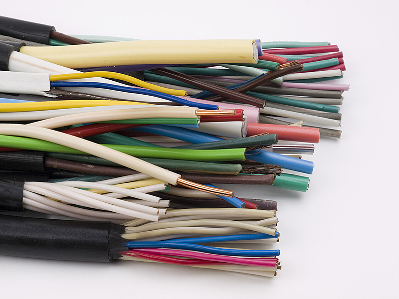 电力线,电缆,迷路,绝缘体,水平画幅,无人,铝,组物体,塑胶,金属