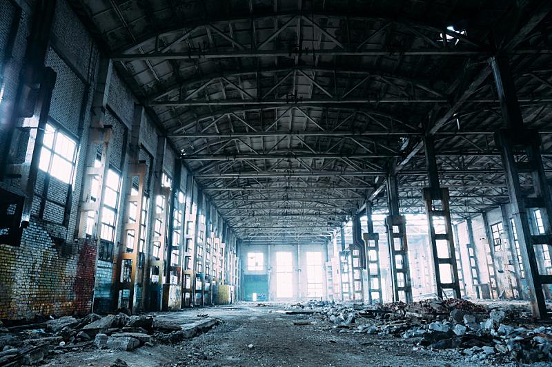 仓库,工厂,怪异,被抛弃的,工业,过时的,暗色,建筑体,摇滚乐,垃圾