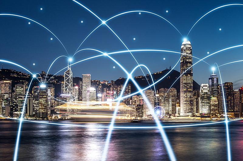 云计算,计算机网络,大数据,维多利亚港湾,维多利亚港,计算机制图,云,天空,未来,水平画幅