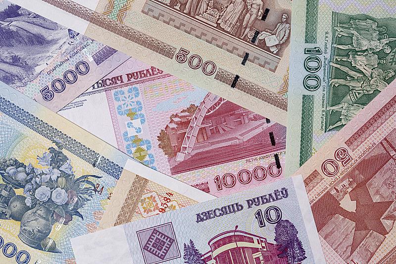 俄罗斯卢布,波兰,水平画幅,无人,金融,金融和经济,商务,摄影