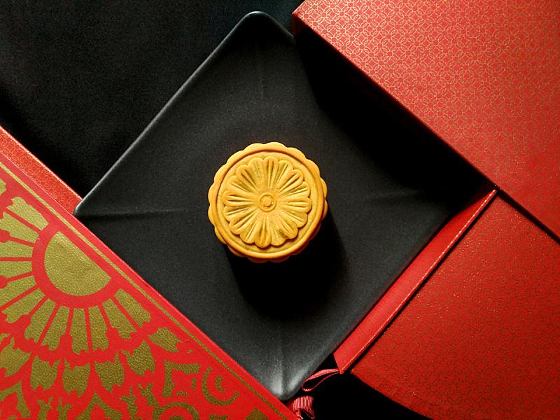 月饼,红色,中心,盒子,式样,太空,黄金,水平画幅,形状,无人