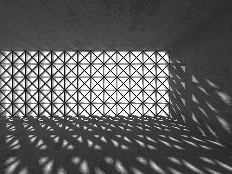 空的,室内,住宅房间,地下室,黑色,混凝土墙,水平画幅,形状,无人,表格