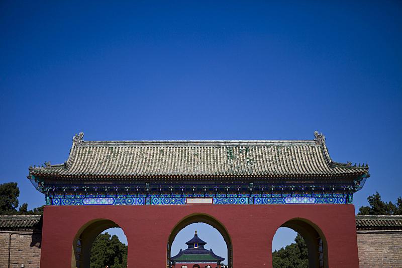 天坛,白昼,北京,图像,无人,2015年,户外,天空,水平画幅,彩色图片