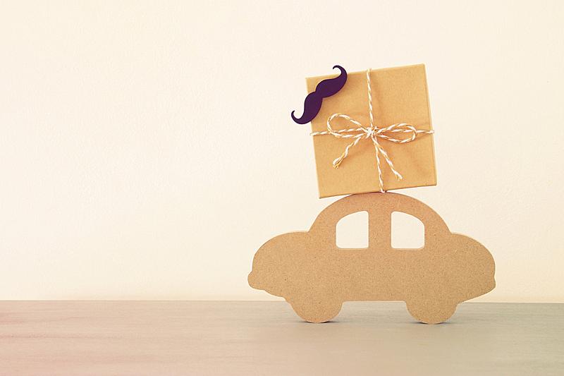 屋顶,木制,概念,礼物,汽车,父亲,白昼,包装纸,贞德,图像