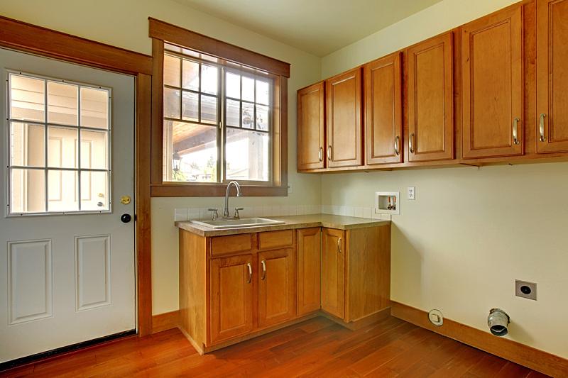 华贵,水槽,新的,杂物间,建筑业,住宅房间,水平画幅,无人,居住区