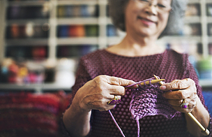 手艺,针织品,羊毛,概念,女人头巾,针,水平画幅,组物体,特写,妻子