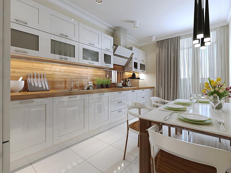 厨房,式样,个人随身用品,褐色,门把手,水平画幅,椅子,微波炉,塑胶,家具