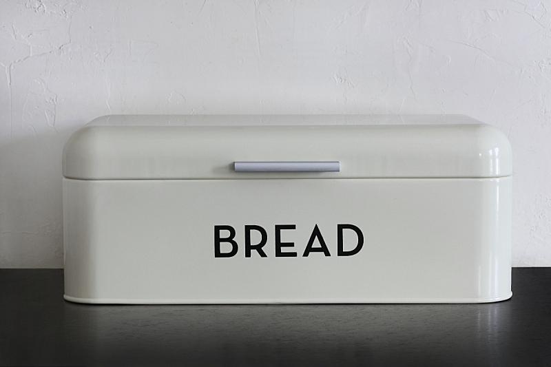 花岗岩,白色,面包盒,黑色背景,灶台,住宅房间,水平画幅,无人,盒子,黑色