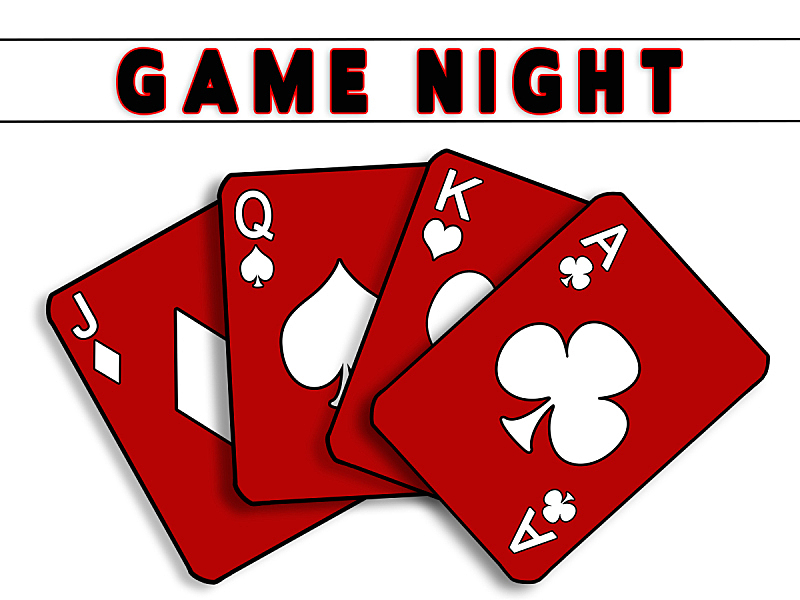 进行中,夜晚,红色,纸牌,团体性运动,特写,扑克,休闲活动,水平画幅,蓝色