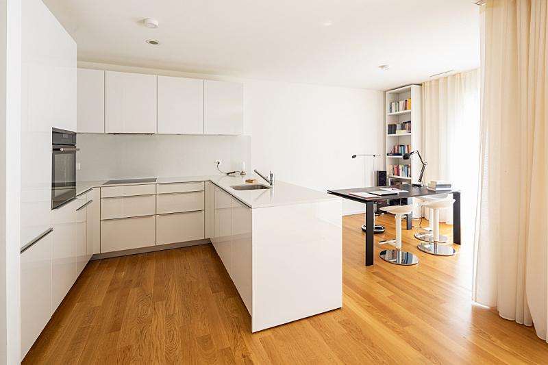 厨房,影棚拍摄,办公室,留白,水平画幅,无人,居住区,现代,白色,水槽