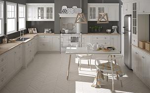 白色,斯堪的纳维亚人,木制,厨房,简单,极简构图,大特写,室内设计师,人字形图案,衣柜