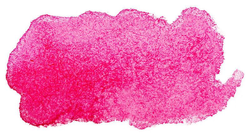 纹理效果,分离着色,水彩画,玷污的,粉色,白色背景,创造力,点状,图像,液体