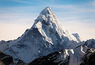 阿马达布朗峰,风景,黄昏,坤布,公园,早晨,曙暮光,齿状山脊,气候与心情,山脊