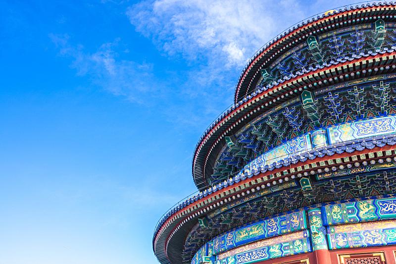 北京,天坛,单词,风景,宝塔,宫殿,自然公园,大门,华丽的,远古的