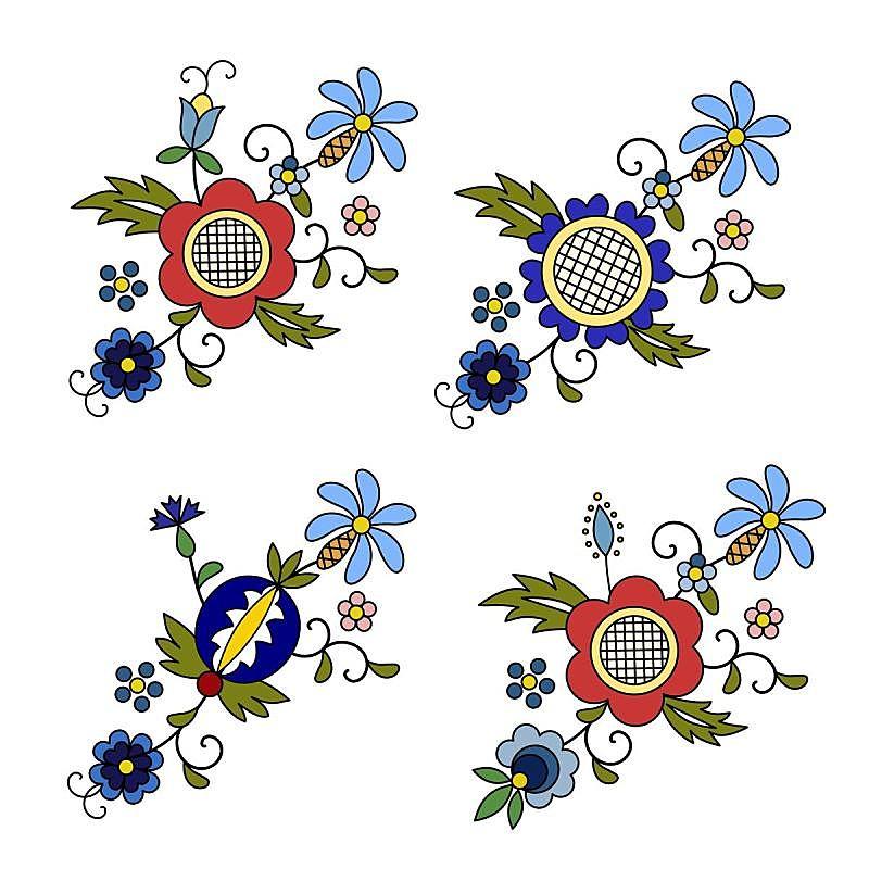 传统,波兰,现代,民间音乐,矢量,国内著名景点,华丽的,贺卡,背景分离,美术工艺