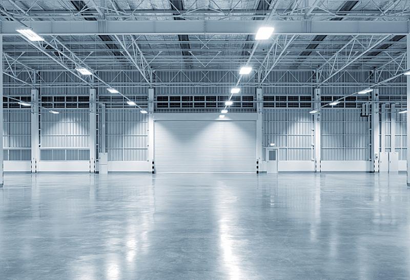 建筑业,背景,工厂,商务,空的,照明设备,泰国,地板,现代,飞机库