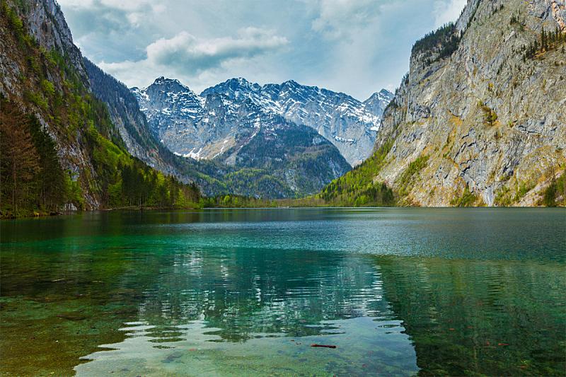 湖,山,德国,自然,水,宁静,水平画幅,无人,欧洲,户外