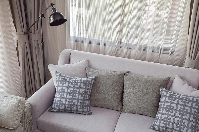 沙发,式样,起居室,枕头,纹理,米色,水平画幅,无人,家庭生活,灯
