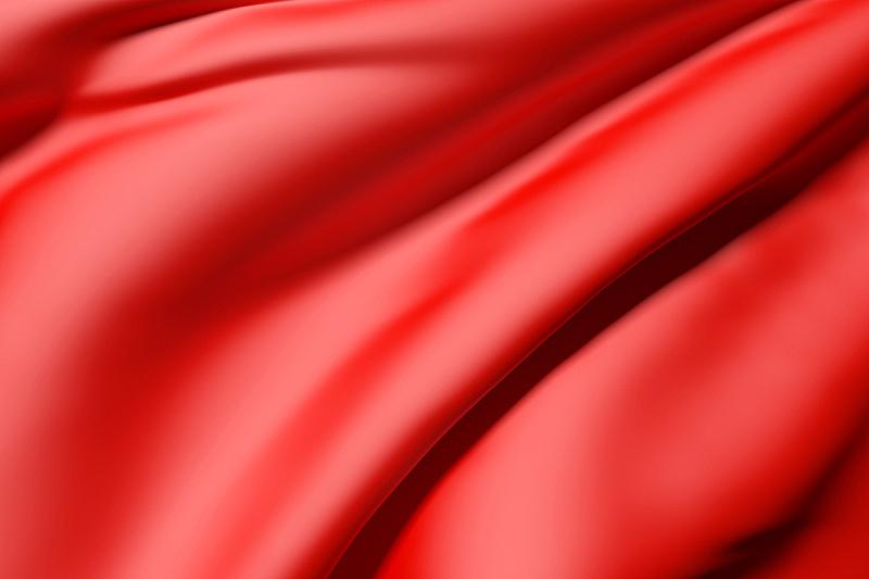 红色,丝绸,折叠的,水平画幅,纺织品,无人,衣服,绘画插图,抽象,帆布