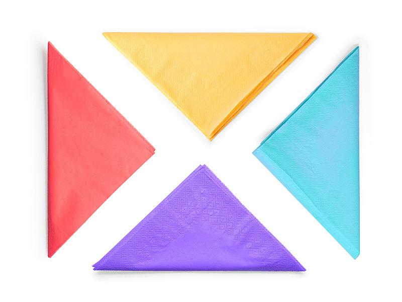 背景分离,餐巾,纸,分离着色,剪贴路径,纹理效果,横截面,空的,一个物体,橙色