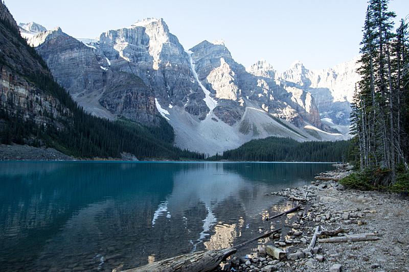 加拿大,梦莲湖,国内著名景点,环境,雪,湖,河流,岩石,夏天,户外