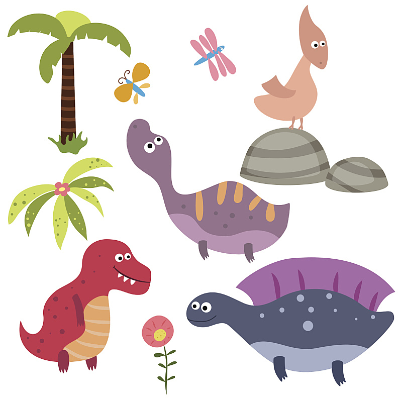 恐龙,乐趣,翼手龙,迷惑龙,霸王龙,已灭绝生物,史前时代,可爱的,人老心不老,一个物体