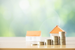 新的,概念,业主,储蓄,水平画幅,银行,家庭生活,房地产经纪人,税,泰国