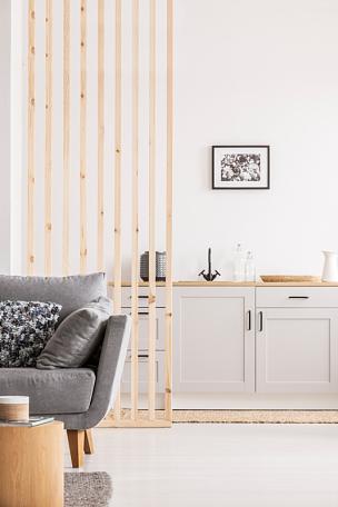 厨房,木制,墙,明亮,开放式设计,一室公寓,起居室,美术工艺,华贵,舒服
