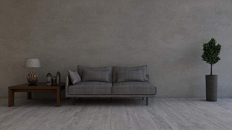 现代,三维图形,起居室,交通工具内部,家具,座位,水平画幅,无人,椅子,光