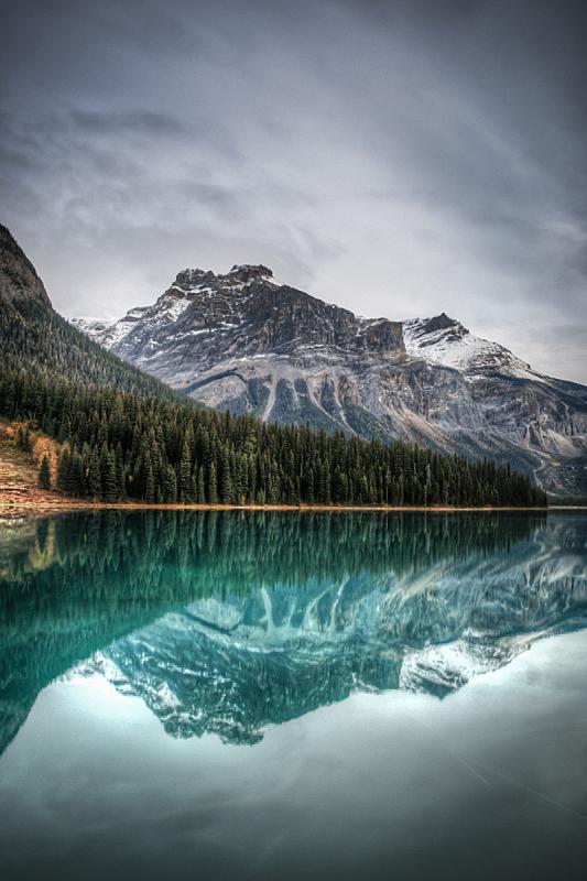 翡翠湖,自然,垂直画幅,水,暴风雨,地形,岩石,秋天,无人
