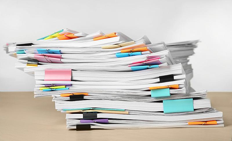 桌子,文档,白色背景,水平画幅,无人,乌克兰,商务,叠,摄影
