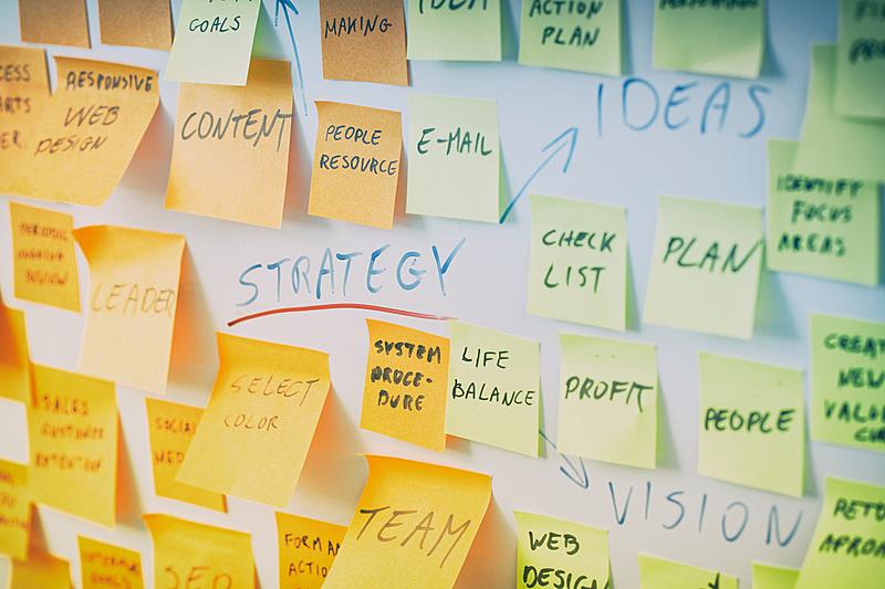 脑风暴,领导能力,想法,专业人员,彩色图片,动机,设计师,清单,白板
