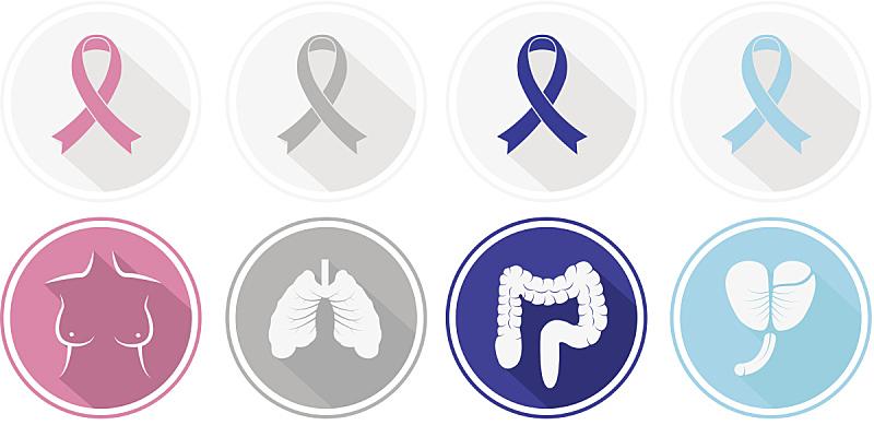 符号,扁平化设计,舞台,癌症,前列腺癌,前列腺,乳癌,机敏,慈善救济